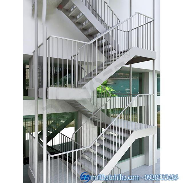 cầu thang kết cấu thép