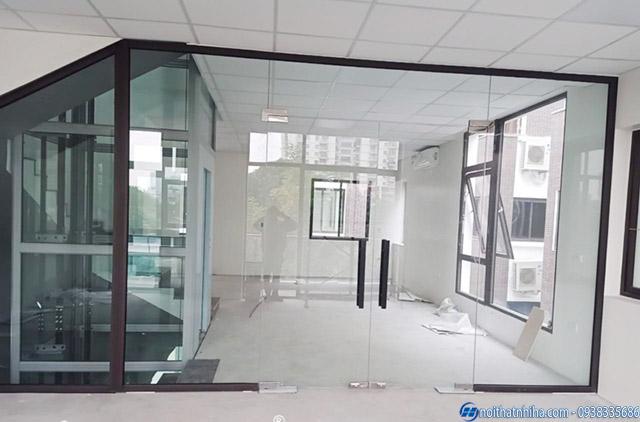 Cấu tạo cửa kính khung sắt chắc chắn an toàn