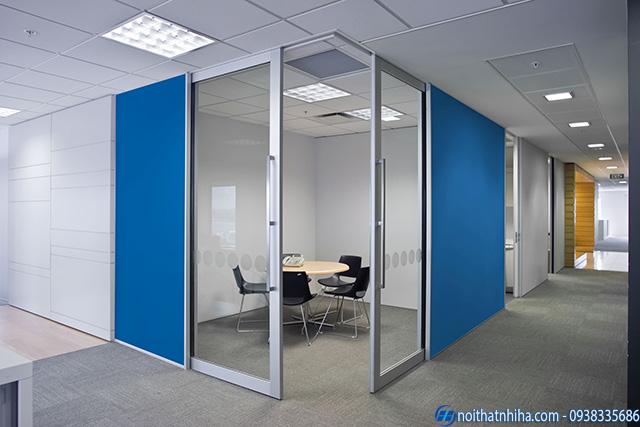 Cửa nhôm cầu cách nhiệt cao cấp mang lại không gian yên tĩnh để làm việc