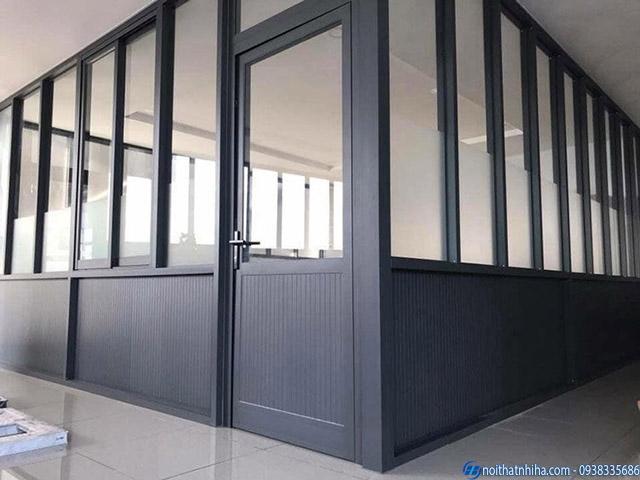 Cửa nhôm kính văn phòng hệ 700 thương hiệu Tungshin