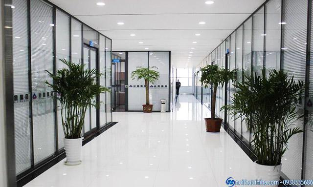 Cửa nhôm kính văn phòng hệ Việt Pháp