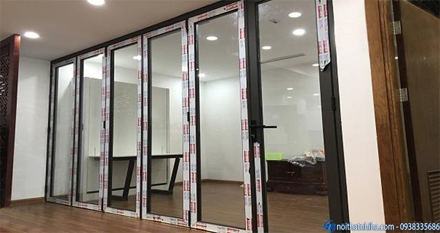 Cửa nhôm Xingfa văn phòng cao cấp nhập khẩu
