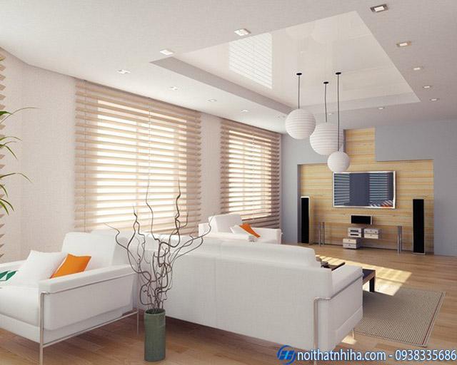 Mẫu trần thạch cao căn hộ đẹp
