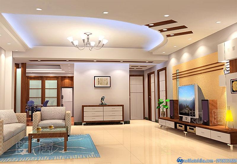 tran thach cao phong khach 8 trần thạch cao phòng khách