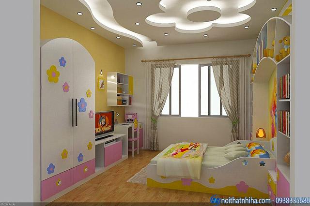 tran thach cao phong ngu 2 trần thạch cao phòng ngủ