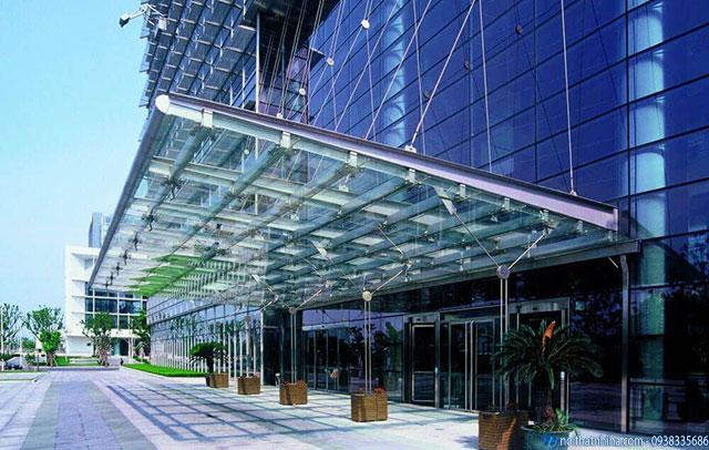Công trình mái kính canopy