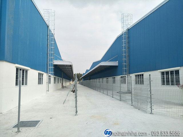 Công trình cửa nhôm Tungshin nhà xưởng