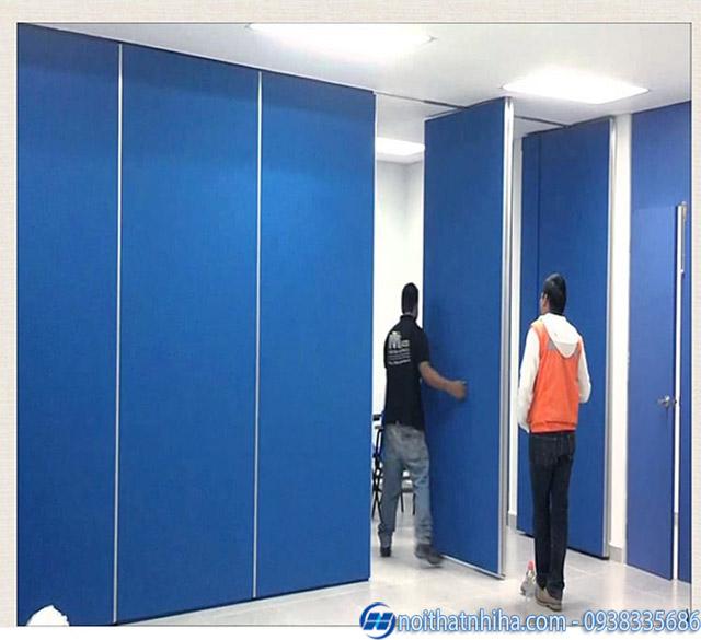 Vách ngăn di động văn phòng bằng tấm thạch cao