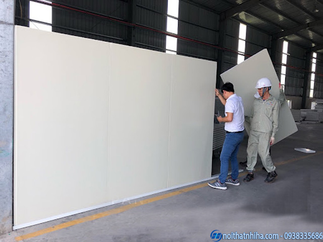 Vách panel trọng lượng nhẹ dễ dàng thi công lắp đặt