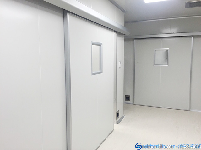 Vách panel chống cháy 120p