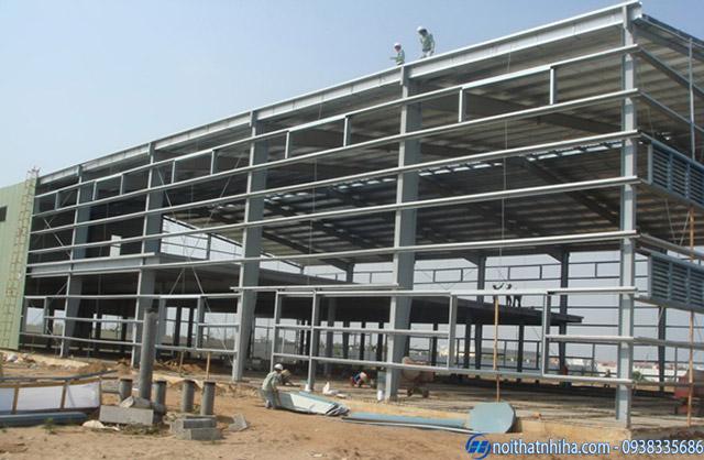 Công trình vách panel chống cháy