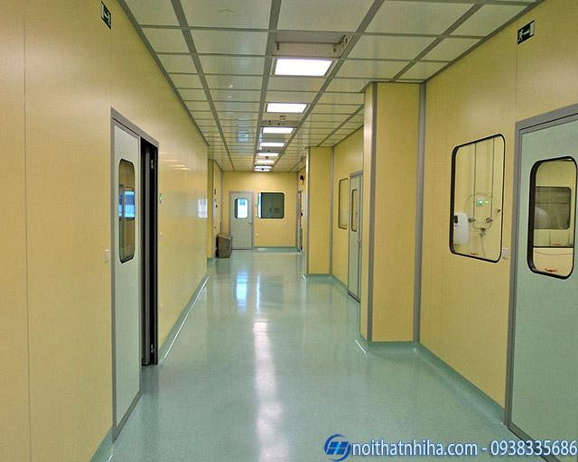 Lắp đặt vách panel phòng sạch có khả năng cách âm cách nhiệt tốt