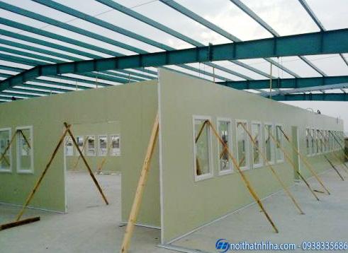 Ứng dụng vách Panel Pu cho nhà xưởng