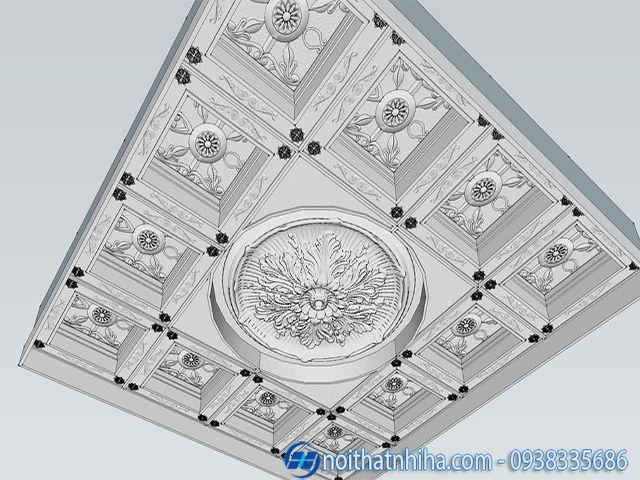 Trần thạch cao 3D